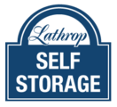 Lathrop Self Storage logo